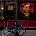 Central Cafe Bicycles by Susan Candelario