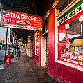 Central Grocery And Deli In New Orleans by Andy Crawford