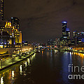 Central Melbourne Skyline In Australia by Jacek Malipan