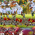 Central Michigan Football Collage by John Farr