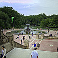 Central Park - Bethesda Fountain by Madeline Ellis