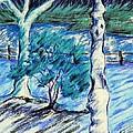 Central Park Blues by Elizabeth Fontaine-Barr