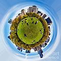 Central Park Circagraph  by Az Jackson