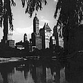 Central Park Evening View by Underwood Archives