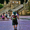 Central Park Hiker by Paul Ward