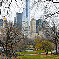 Central Park South Buildings From Central Park by RicardMN Photography