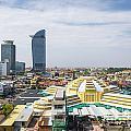 Central Phnom Penh In Cambodia by Jacek Malipan