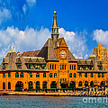Central Railroad Of New Jersey Terminal by Nick Zelinsky