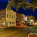 Centre Street Downtown Fernandina Florida by Dawna Moore Photography