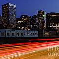 Century City Skyline At Night by Paul Velgos