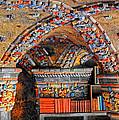 Ceramic Pillars by Dave Mills