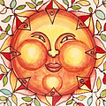 Ceramic Sun 2 by Anna Skaradzinska