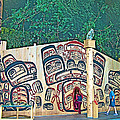 Ceremonial Lodge In Canadian Museum Of Civilization In Gatineau- by Ruth Hager