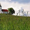 Cerkev Sv Janeza Evangelista by Graham Hawcroft pixsellpix