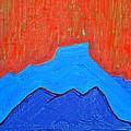 Cerro Pedernal Original Painting Sold by Sol Luckman