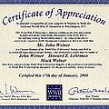 Certificate Of Appreciation by Ericamaxine Price