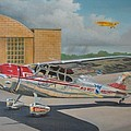 Cessna 195 by Stuart Swartz