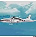Cessna 310 Twin Engine by Jack Pumphrey