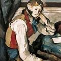 Cezanne, Paul 1839-1906. The Boy by Everett