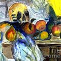 Cezanne Still Life With Skull by Donna Walsh