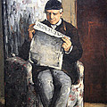 Cezanne's The Artist's Father Reading Le Evenement by Cora Wandel