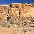 Chaco Culture Puebo Bonito Panorama by Brian King