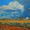 Chaco Storm by Celeste Drewien