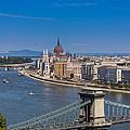 Chain Bridge Budapest by Gabriel Radulescu