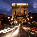 Chain Bridge Budapest  by Michalakis Ppalis