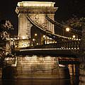 Chain Bridge Close-up by David Waldo