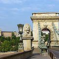 Chain Bridge In Budapest by Artur Bogacki