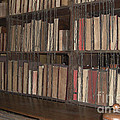 Chained Library At Hereford Cathedral by Deborah Smolinske