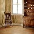 Chair And Cupboard by Jill Battaglia