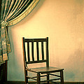 Chair And Curtain by Jill Battaglia