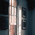 Chair In A Blue Corner by RC DeWinter