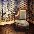 Chair In Abandoned Room by Jill Battaglia