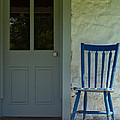 Chair On Farmhouse Porch by Olivier Le Queinec