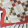Chair Quilt               Color Pencil by Mark Eisenbeil