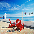 Chairs Cape Cod Ma by Panoramic Images