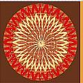Chakra Mandala With Crystal Stone Healing Energy Plates By Side  Navinjoshi Rights Managed Images Fo by Navin Joshi