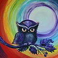 Chakra Meditation With Owl by Agata Lindquist