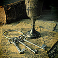 Chalice And Keys by Jill Battaglia