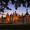 Chambord Castle At Sunset by Audra Mitchell