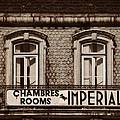 Chambres Imperial Lisbon by Mary Machare