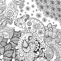 Chameleon In Fantasy Forest. Animals by Palomita