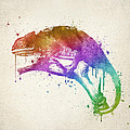 Chameleon Splash by Aged Pixel