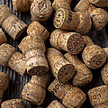 Champagne corks by Garry Gay