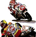 Champion 34  Kevin Schwantz by Iconic Images Art Gallery David Pucciarelli