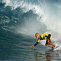 Champion At Pipeline Masters  by Kevin Smith