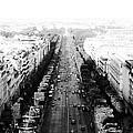 Champs Elysees - Paris by Conor O'Brien